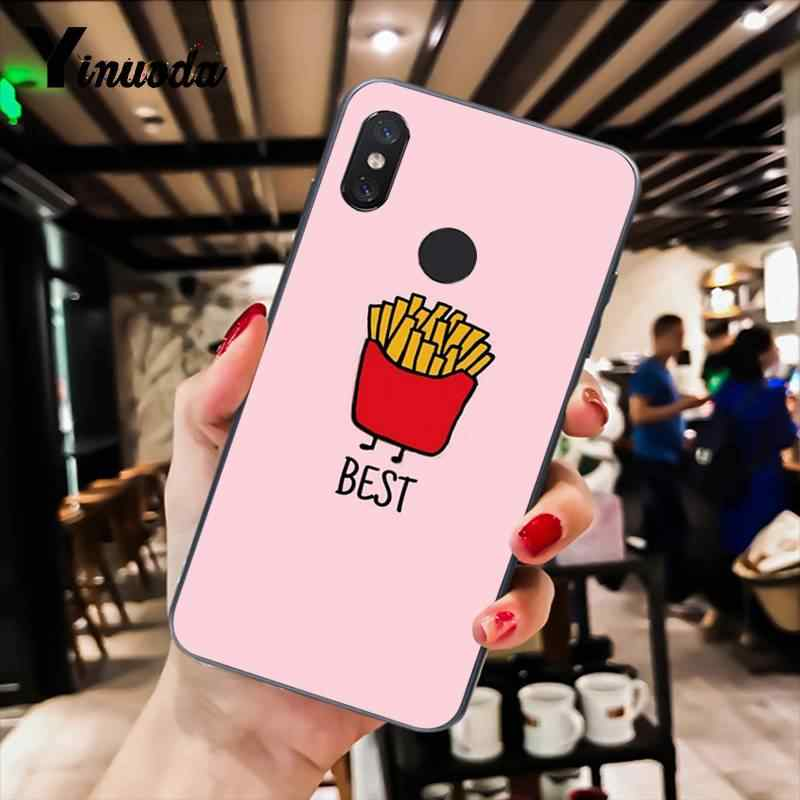 Yinuoda Funny Coiuple Best Friends BFF DIY Luxury Phone Case for Xiaomi Mi 6 Mix2 Mix2S Note3 8 8lite Redmi 5 note5 Note4 4X