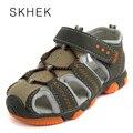 Novos Sapatos de Praia Crianças Sandálias Meninas Miúdos Seguros Para Meninos Antiderrapante Sandália, Sapatos Meninas, Crianças Sapatos de 25-36