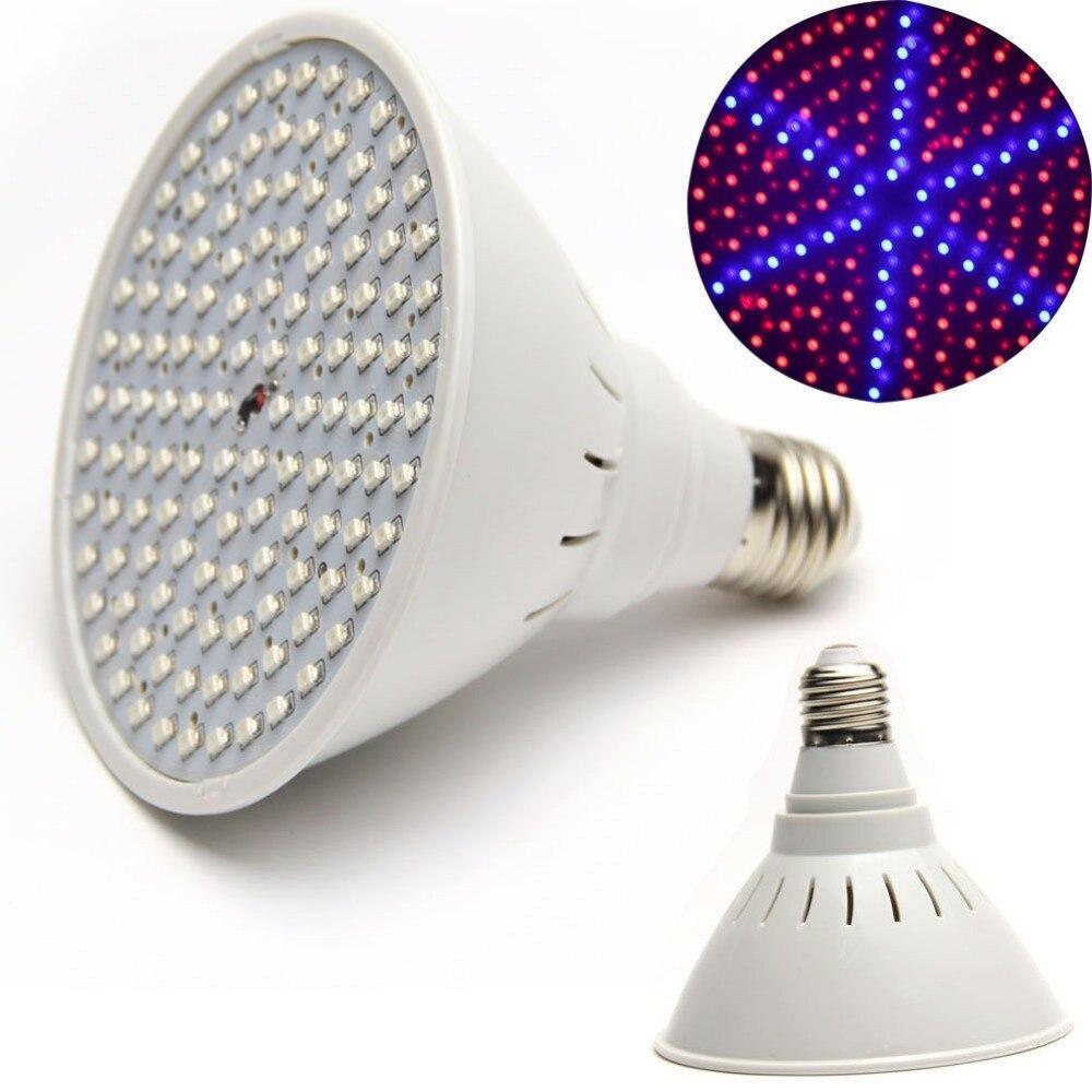100 шт. E27 lamp15w завода светать E27 лампа 126led для гидропоники растения привело рас ...