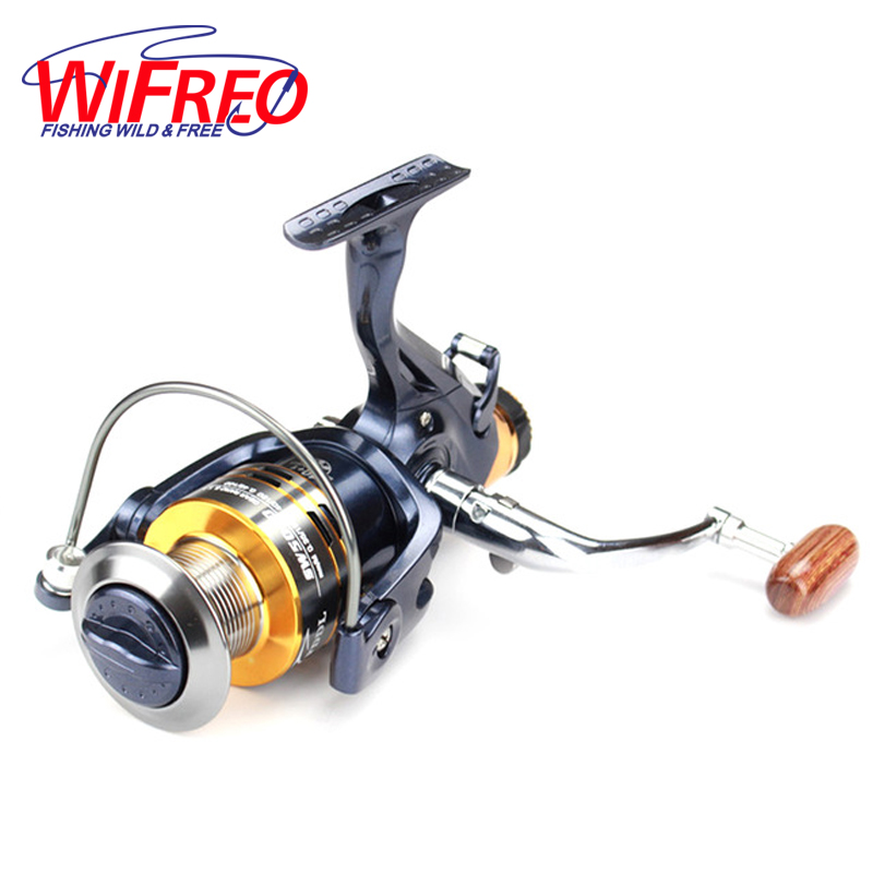 Carp Fishing Reel Front and Rear Drag Bait Cast Feeder SW6000