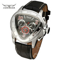 Fashion Luxury Mens Automatic Mechanical Wrist Watches Top Brand WINNER Triangle Men S Watches 3 Sub