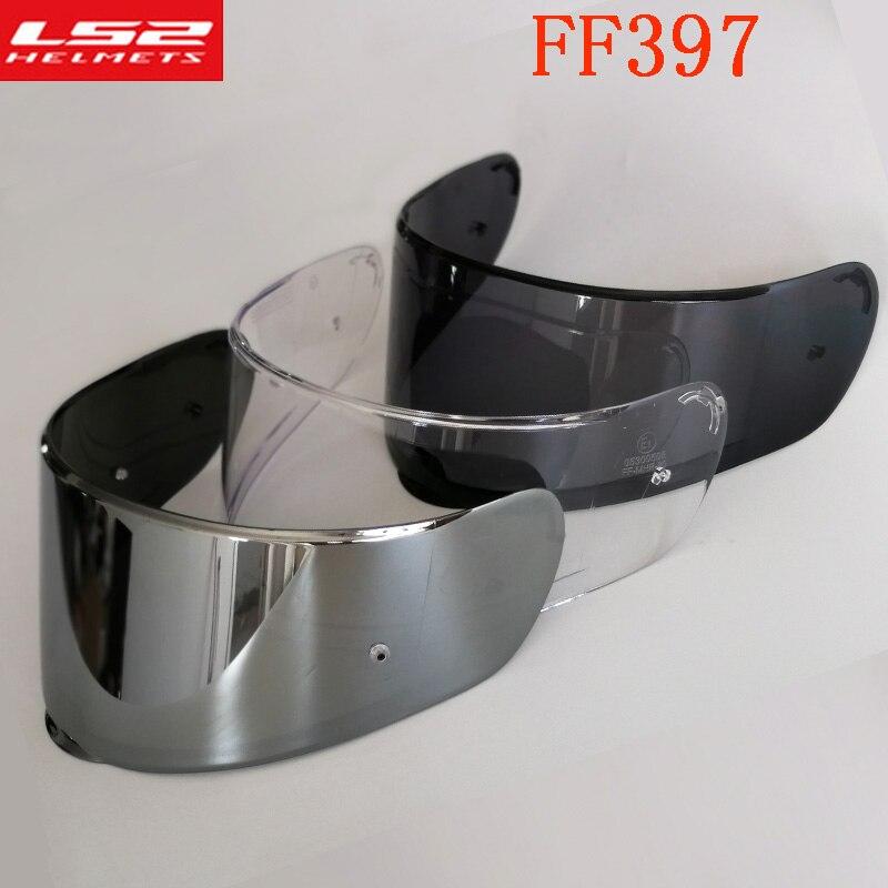 Original LS2 FF397 Helm Visier Carbon Fiber full face motorrad helm Objektiv klar visier geeignet für FF397 helm