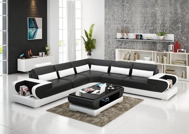 Super attrayant canapé en cuir moderne canapé de bureau design