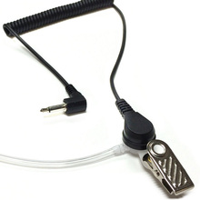 Mayitr 3.5mm Jack Cover Acoustic Earpiece Headset Tube Earph