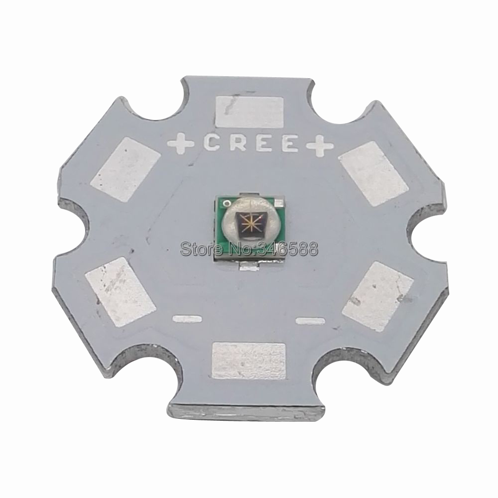 10pcs 3W 3535 EPILEDs Infrared IR 850NM 730NM 940NM High Power LED Emitter with 8mm / 12mm / 14mm / 16mm / 20mm PCB
