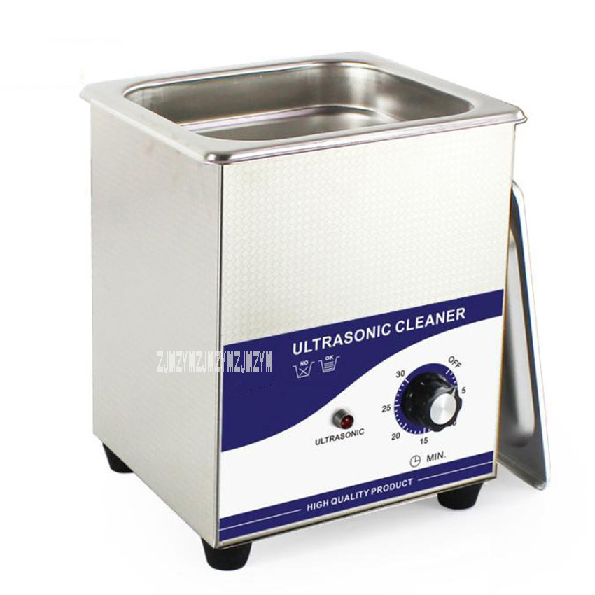 New Arrival Ultrasonic Cleaning Machine JP-010B Jewellery Cleaner Ultrasonic 2L 220V цены