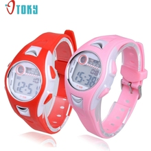 Watches OTOKY Newly Design Children Girls Sports Waterproof Digital Slicone Gel Wrist Watch Best Gift 170104 Drop Shipping