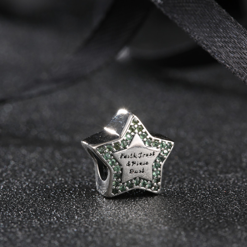 vruće 925 srebro Europski kubni cirkonij Charm perle Fit Pandora - Modni nakit - Foto 4