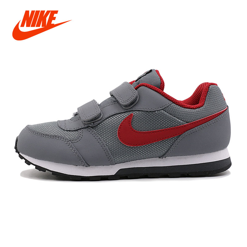 Original NIKE MD RUNNER 2 (PSV) Professinal Kids Boys Running Shoes Comfort Breathable  Sport Sneakers Size 28-35 nike кроссовки мужские nike md runner 2