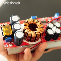 1800W 40A CC CV Boost Converter DC DC Step Up Power Supply Adjustable Module DC 10V