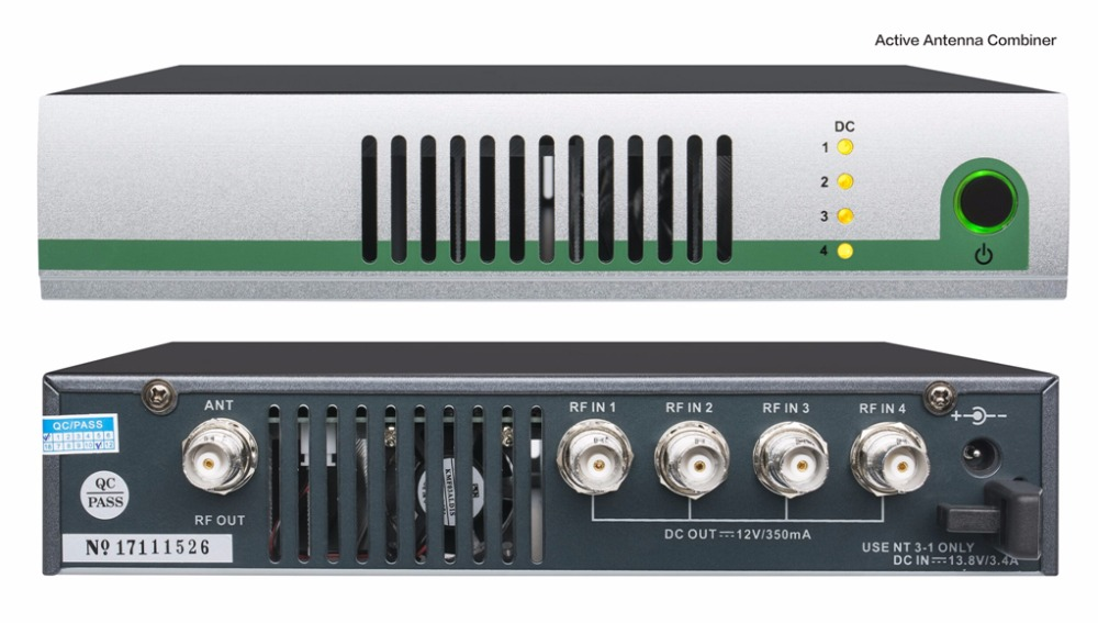 Profesjonalny etap aktywna antena sumator AC3 na ucho monitor systemu UHF AC3000 aktywnych łączności szerokopasmowej anteny zestaw łączników