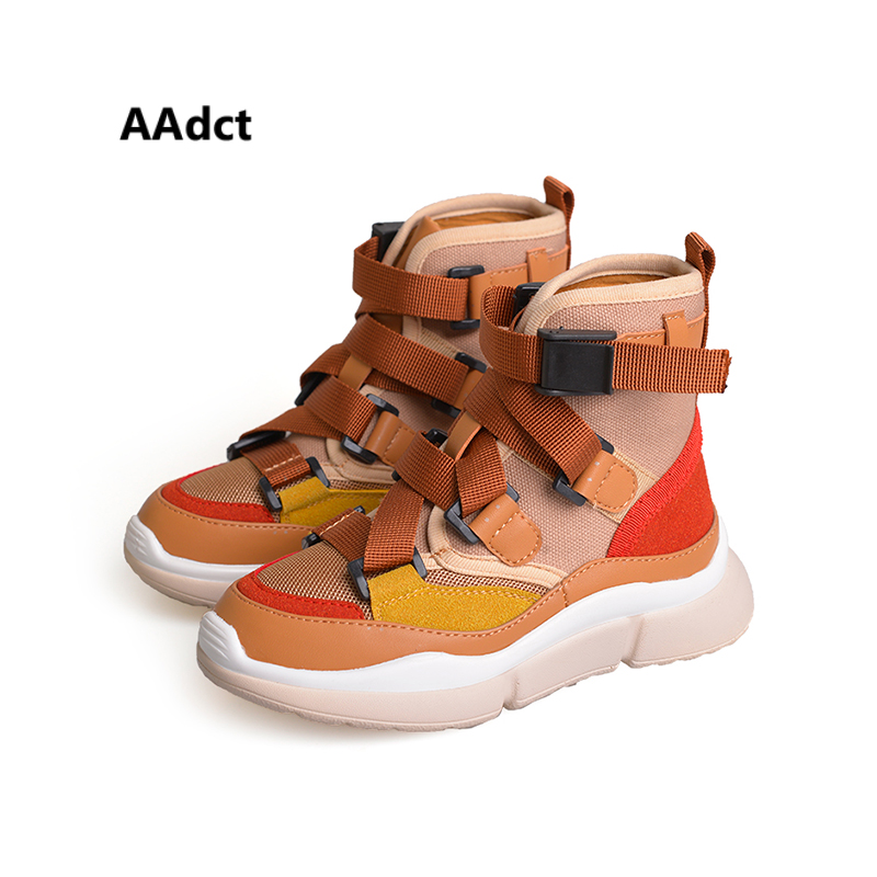 AAdct 2018 Autumn Running shoes for boys girls Casual sports children shoes Breathable sneakers kids shoes Brand High-quality aadct 2018 new spring autumn casual sports children shoes breathable leather shoes for girls boys soft sneakers kids shoes