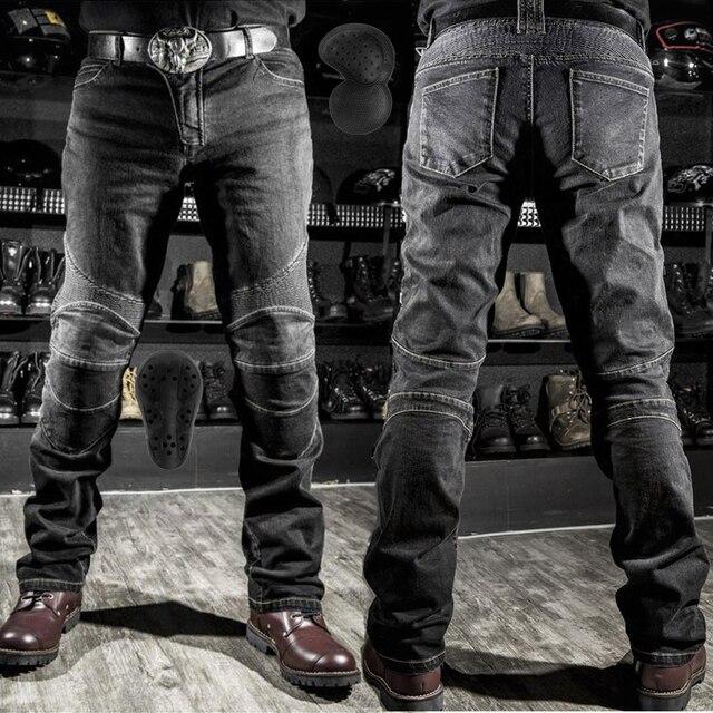 2019 горячая Распродажа Komine мотоцикл Досуг мотоцикл мужские беговые уличные джинсы для езды с защитным оборудованием наколенники