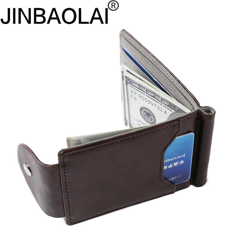 2019 винтажный кошелек из искусственной кожи, Короткие Двойные кошельки, кошелек, мужской Держатель денежных купюр, сумка-Органайзер для карт