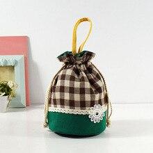 Women Children Kids Girls String Bucket Handbag Flowers Bag Phone Pocket Handbags Tote Purse Satchel Hobos