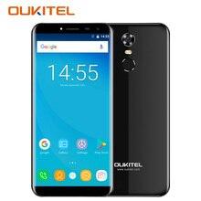 Oukitel C8 3 г разблокировать смартфон с двумя sim-картами 5.5 дюймов Android 7.0 nougat MTK6580A 4 ядра 2 ГБ + 16 ГБ мобильный телефон отпечатков пальцев