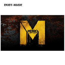 Game metro 2033 Canvas Poster bedding Home Decoration Wall Art Modern 1 Piece HD Oil Painting Picture Panel Print C-002