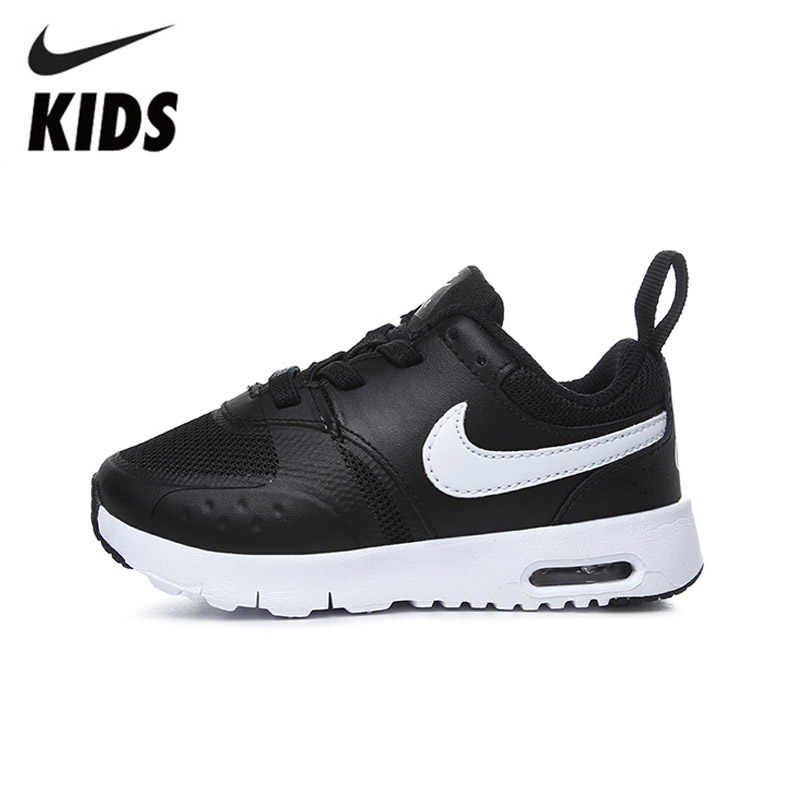 NIKE AIR MAX VISION TDE Kids Outdoors Breathable Running Shoes Toddler  Sports Sneakers 917860-009 5acaef36ee91