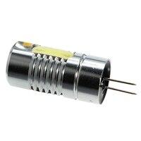 10 יחידות pin מנורת G4 1.4 W COB LED חיסכון באנרגיה לבן חם הנורה מנורת בסיס