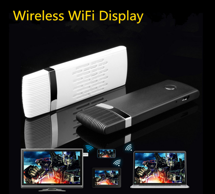 Wireless WiFi <font><b>HDMI</b></font> Dongle Transmitter and <font><b>Receiver</b></font> Smart TV Stick 1080P Miracast Spport Android/IOS/WIN Wireless Share Push Rece