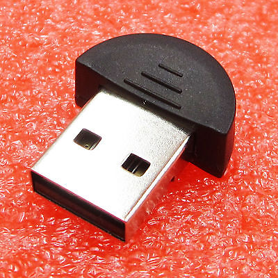 MINI USB 2.0 BLUETOOTH  EDR DONGLE WIRELESS ADAPTER For PC  Laptop Win Xp Win7 8