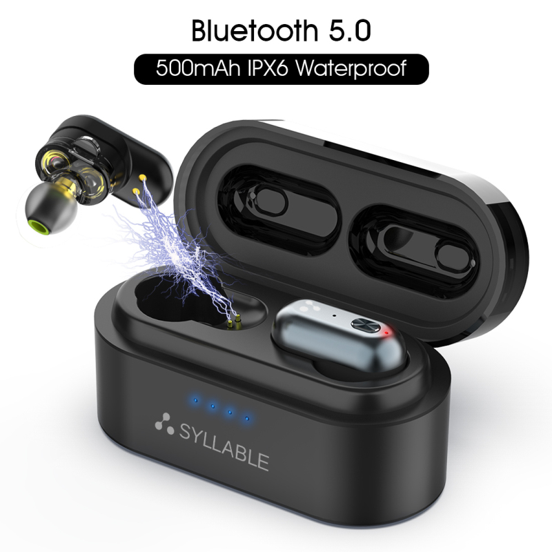 Original SYLLABLE S101 QCC3020 chip bluetooth V5.0 bass earphones wireless Volume control headset noise reduction SYLLABLE S101Original SYLLABLE S101 QCC3020 chip bluetooth V5.0 bass earphones wireless Volume control headset noise reduction SYLLABLE S101