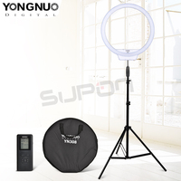 YongNuo YN308 Ring LED Flash Light White 5500K Temperature Remote Wireless LED Video Selfie Light Led