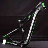 Mountain Carbon Bike Frame 29er Factory sale Full suspension 142x12mm bicicletas mountain bike 165x38mm Shock