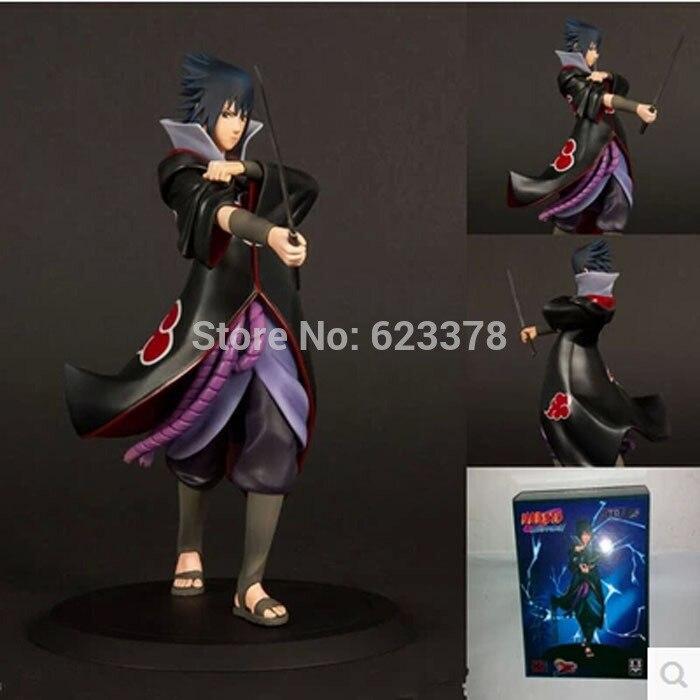 Sasuke Figure Japanese Anime Naruto Action Figure Model Akatsuki Member Sasuke Uchiha Collectibles