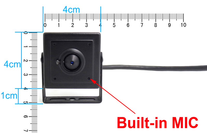 Security & Protection Surveillance Cameras Candid Sony Imx323 Very Mini 1080p Ahd Camera 1080p 720p 2.0mp Metal 3.7mm Cone Lens Super Small Surveillance Products Cam Have Bracket