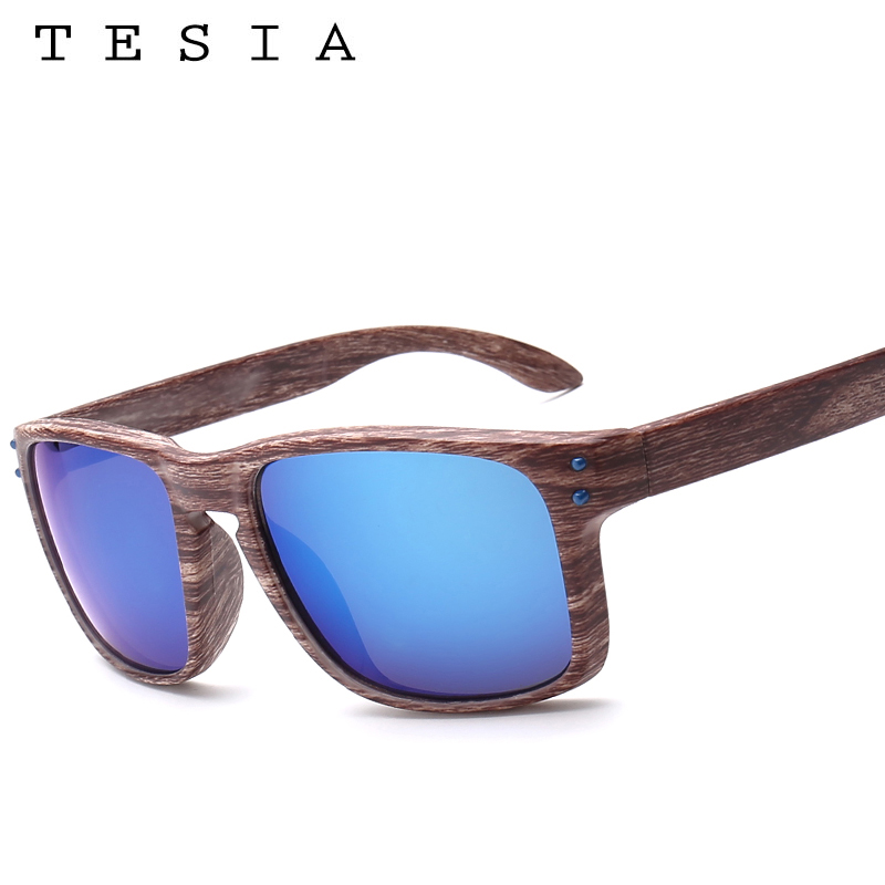 TESIA Brand Designer Wood Sunglasses Men Women Outdoors Glasses - Apparel Accessories - Photo 2