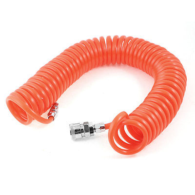 цена на 9M Long 5/16 x 1/5 Pneumatic Quick Connect Polyurethane Tube Pipe Air PU Hose Free shipping