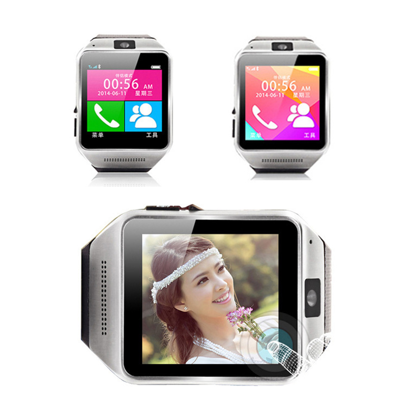 Pro Wrist Watch 3Color Bluetooth GV08S Smart Android/Samsung/HTC/Meizu GSM Camera Pedometer TFT Touch Screen - Shenzhen Agood Co.,Ltd. Store store