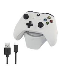 Беспроводной геймпад Подставка для зарядки для xbox ONE/S геймпад плюс аккумулятор Индуктивная Подставка для зарядки