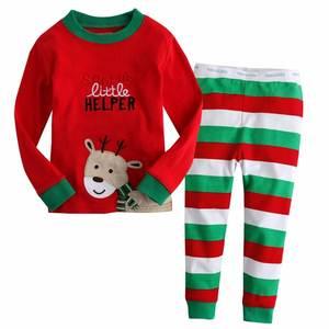 baby has kids clothes set long sleeve cotton pajamas