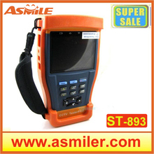 High Performance St-893 Camera Tester 3.5″ inch TFT-LCD Monitor CCTV Tester Video/ PTZ UTP RS485 Audio 12V Output
