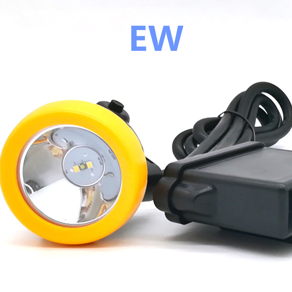 LED Lion Battery Explosion-proof Light Miners Lamp Special For Mine KL5M With Charger