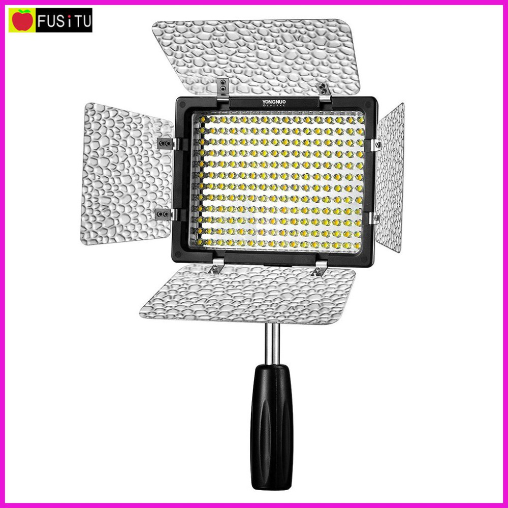YONGNUO Camera Studio Lighting YN-160 III Pro LED Video Light with 3200-5500K Color Temperature for Canon Nikon Sony накамерный свет yongnuo led yn 160 iii 3200 5500k