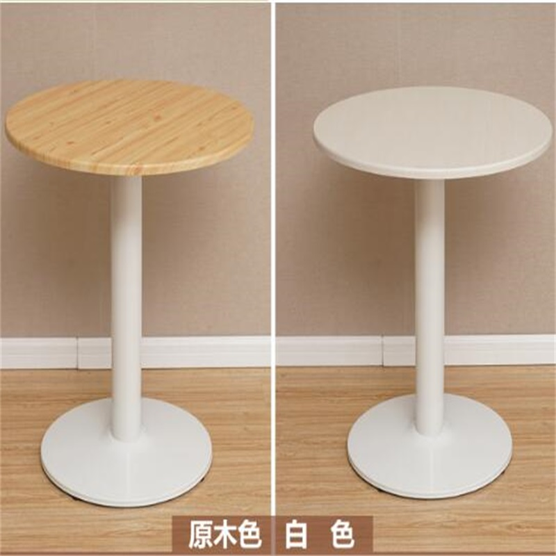 60*70CM Leisure Outdoor Garden Table Round Negotiating Table Modern Dining Table Coffee Bar Table