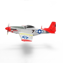 Volantex RC 768-1 Mus&tang P51D 2.4Ghz 6CH 750mm 29.5 In Red
