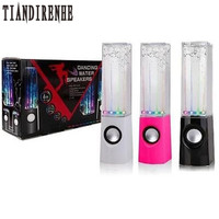 Dancing Water Speaker Active Portable Mini USB LED Light Speaker For Iphone Ipad PC MP3 PSP