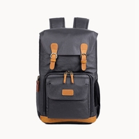 Dslr Waterproof Canvas Camera Bag Outdoor Multi Functional Photography Backpack For Camera Lens