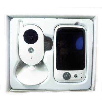 303A baby monitor 3.2 inch Wireless Video Color Baby Monitor nice Baby Nanny Security Camera Night Vision music 1