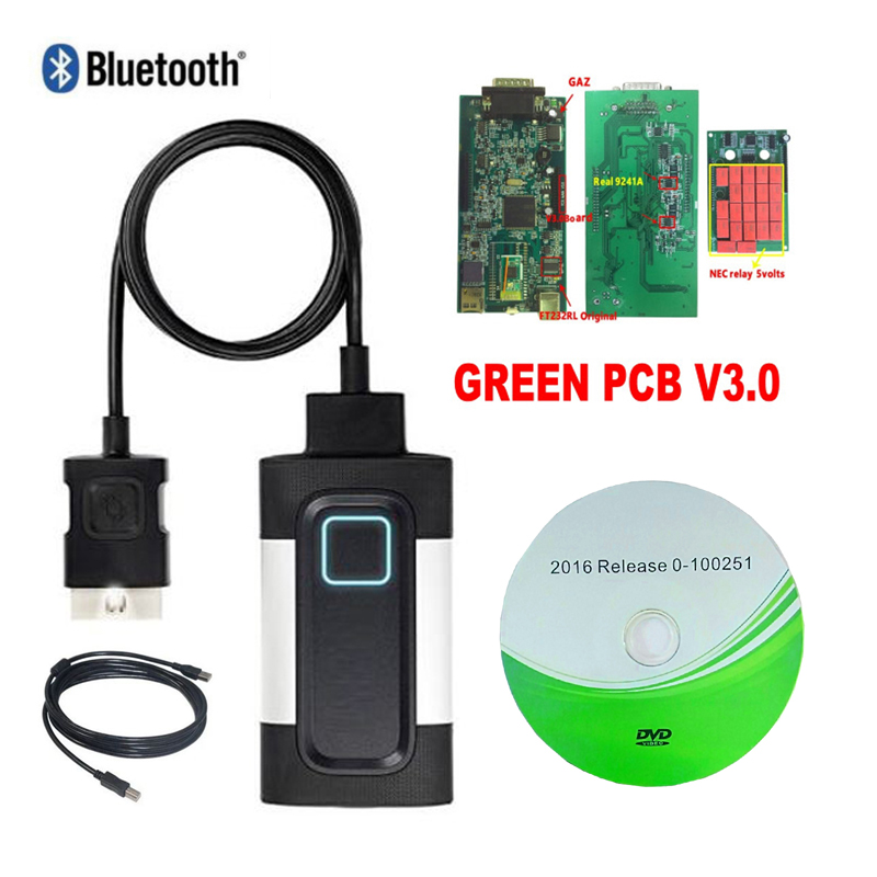 2015 R3 V3.0 CDP Pro Plus with bluetooth vd ds 150e cdp OBD2 obd Scanner car Diagnostic Tool for autocoms cdp plus.