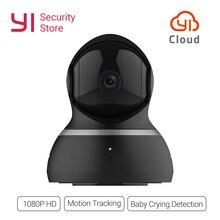 Yi dome камера 1080 P ночное видение беспроводной IP охранных системы скрытого видеонаблюдения 360 градусов покрытие панорамирования/наклона/зум Глобал