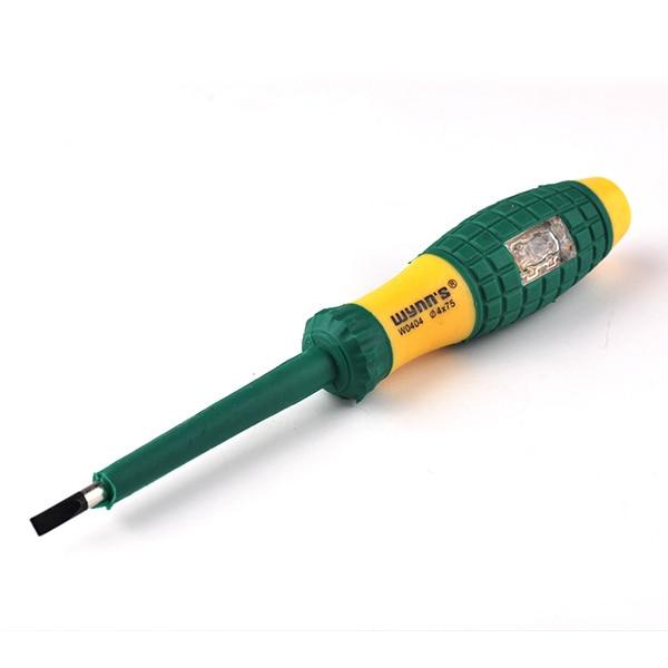 imágenes para Destornillador de la alta Calidad con Probador de Voltaje Eléctrico Tester Pen 220 V Detector Power Meter Nueva Prueba de Lápiz