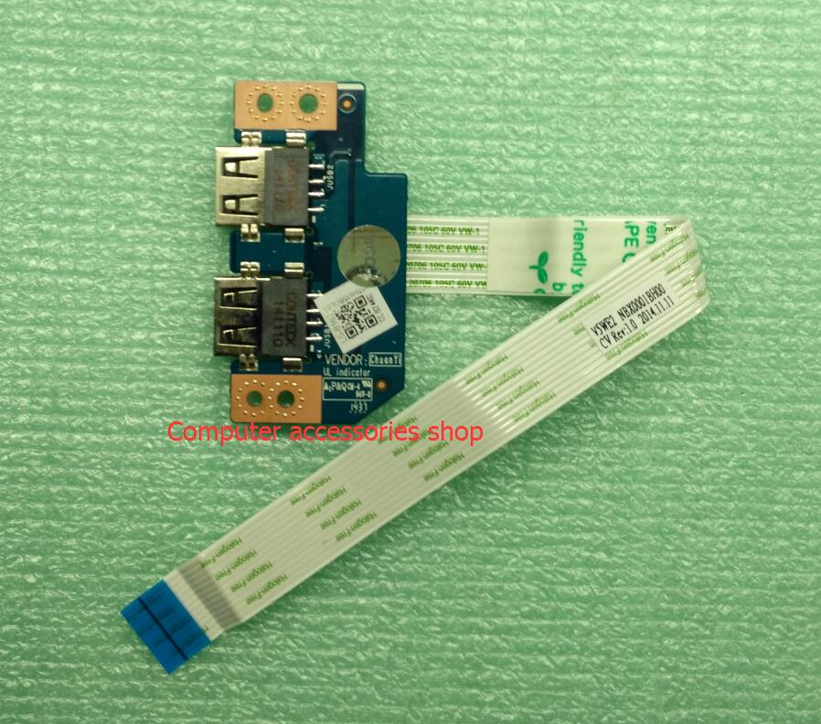 New Original USB Board With Cable For Acer E5-511G E5-571G E5-572G Z5WAH LS-B162P кошельки бумажники и портмоне petek s15020 als 40