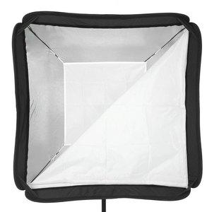 Image 4 - Godox Caja difusora de Flash de 40x40cm, 15x15 pulgadas, soporte tipo Speedlite + S, Kit de montaje Bowens con soporte de luz de 2m para fotografía de cámara