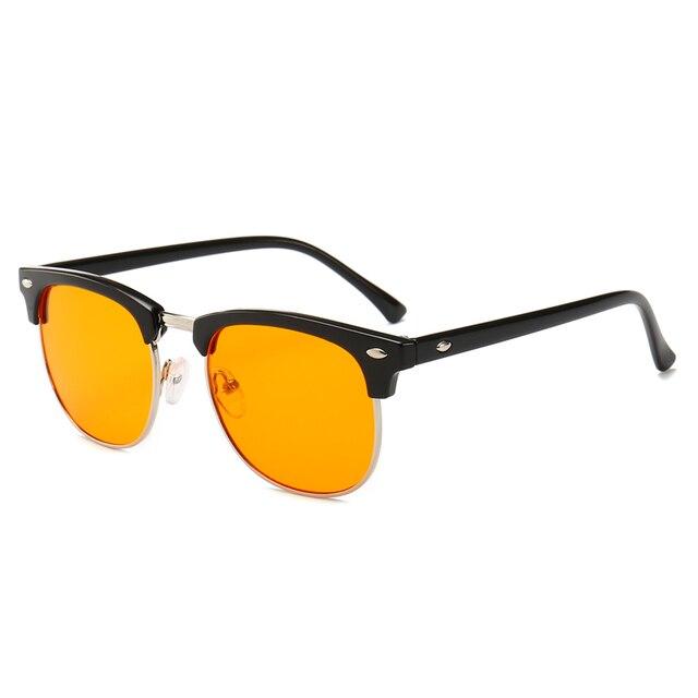 e5c915183f Gafas bloqueadoras de luz azul Real 95% Anti rayos azules gafas de  ordenador Smartphone TV