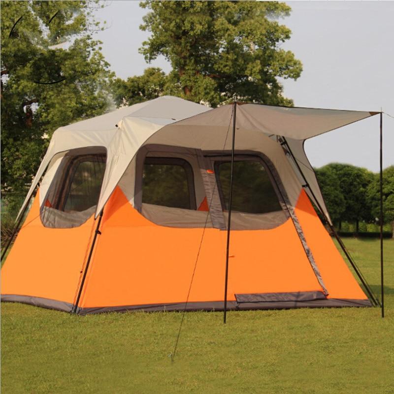 300*270*210cm 5 8 Person Outdoor Tents Waterproof ...